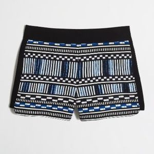 NWOT J Crew Printed Drapey Short Size 2 PERFECT CO